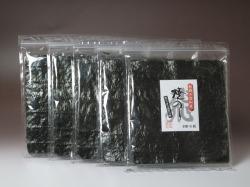愛知三河産。濃厚な味。「飛びっきり焼海苔10枚」【5袋セット】